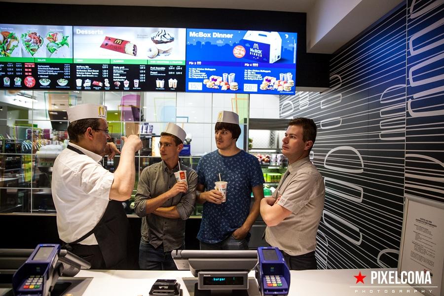 Patrick und Fabian an ihrem neuen Arbeitsplatz :)